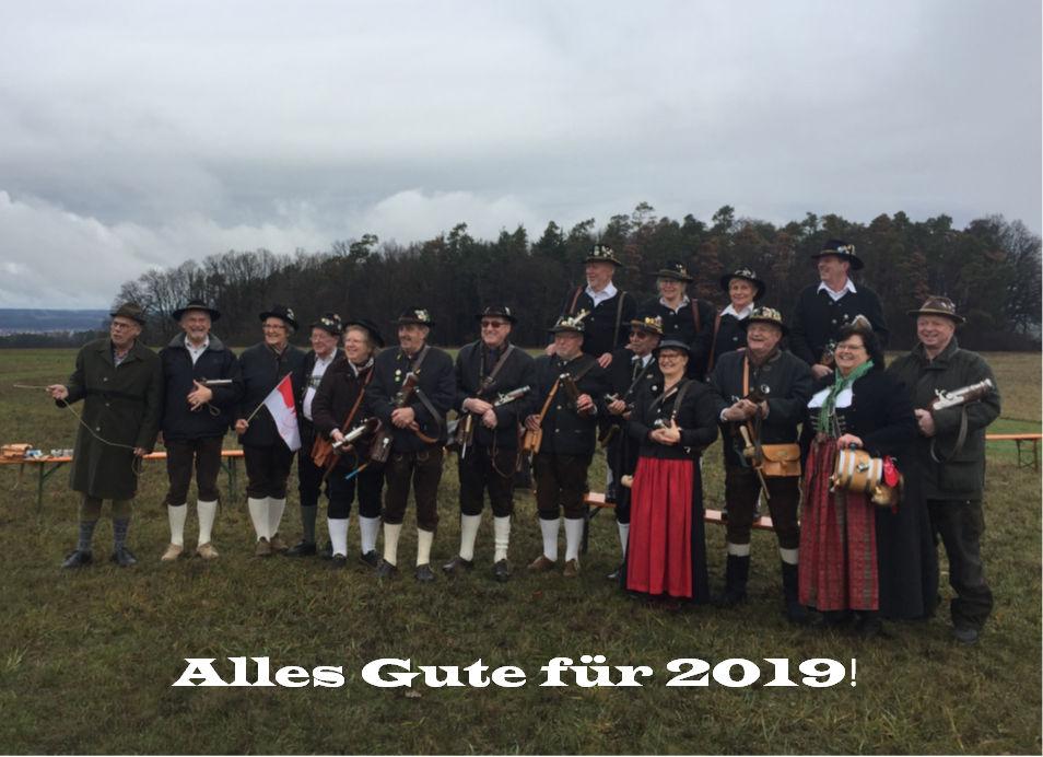 Neujahrsböllern 2019